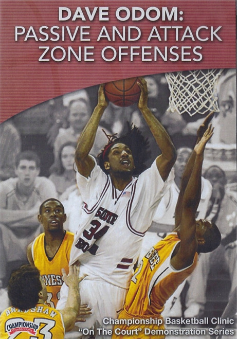 Passive & Attack Zone Offenses by Dave Odom Instructional Basketball Coaching Video