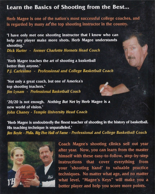 (Rental)-Nothing But Net A Shooting Clinic With Coach Herb Magee