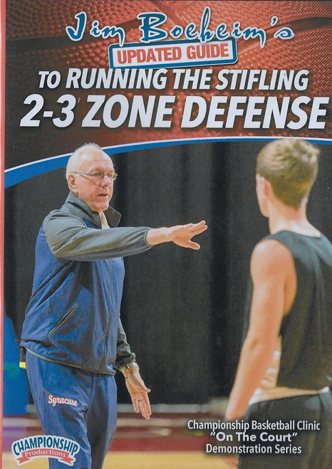 Boeheim's Updated Guide to Running the 2-3 Zone Defense by Jim Boeheim Instructional Basketball Coaching Video