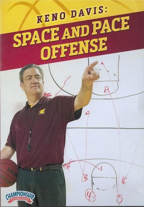 Space & Pace Basketball Offense by Keno Davis Instructional Basketball Coaching Video