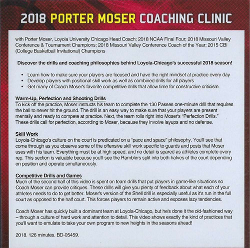 Porter Moser Basketball Coaching Clinic