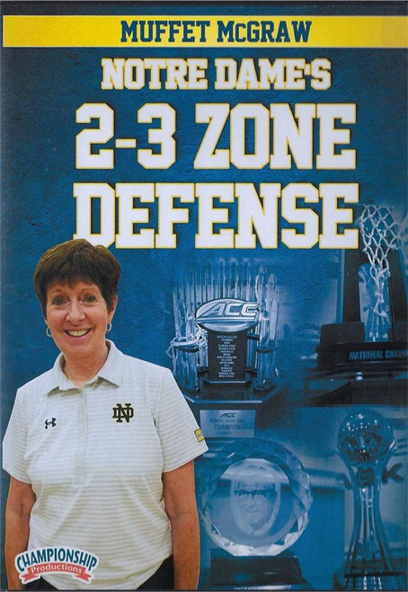 Notre Dame's 2-3 Zone Defense by Muffet McGraw Instructional Basketball Coaching Video