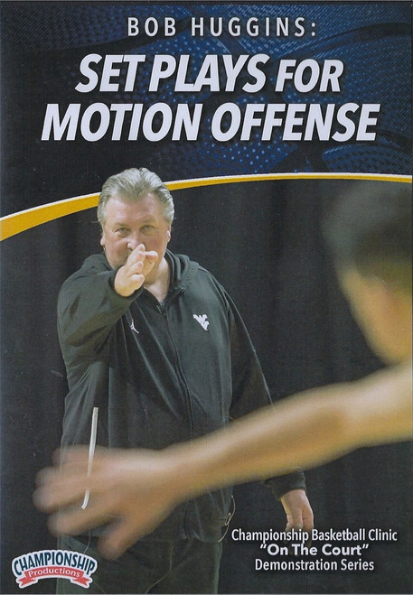 Set Plays for Motion Offense by Bob Huggins Instructional Basketball Coaching Video
