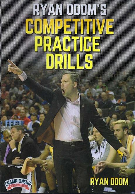 Ryan Odom's Competitve Practice Drills by Ryan Odom Instructional Basketball Coaching Video