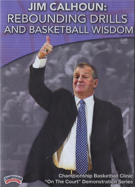 Rebounding Drills & Basketball Wisdom by Jim Calhoun Instructional Basketball Coaching Video