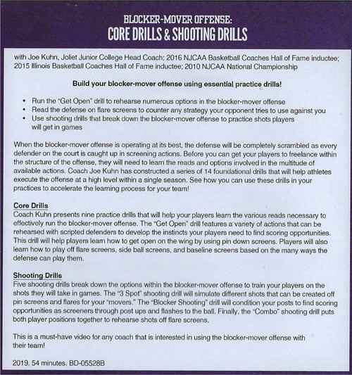 (Rental)-Blocker Mover Offense: Core Drills & Shooting Drills