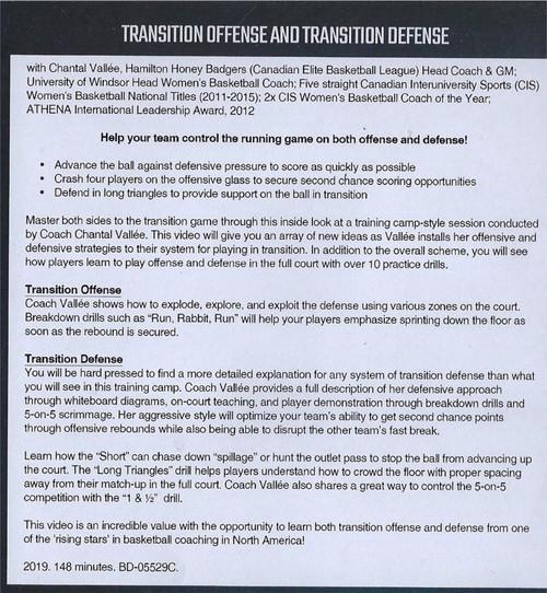 (Rental)-Transition Offense & Transition Defense