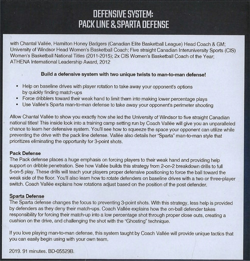 (Rental)-Defensive System Pack Line & Sparta Defense