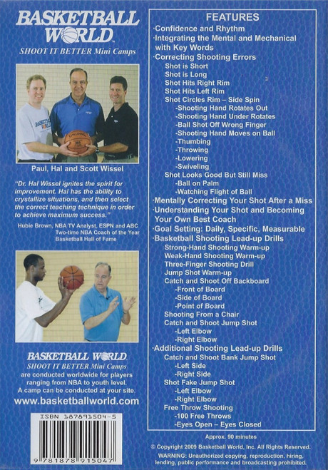 (Rental)-Dr. Hal Wissel Basketball Shooting Make Your Shot Automatic