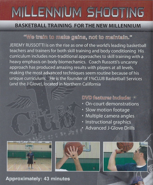 (Rental)-One Percent Basketball J-Glove Shooting Workout