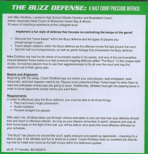 Buzz Defense basketball