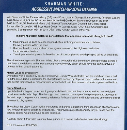 match up zone defense
