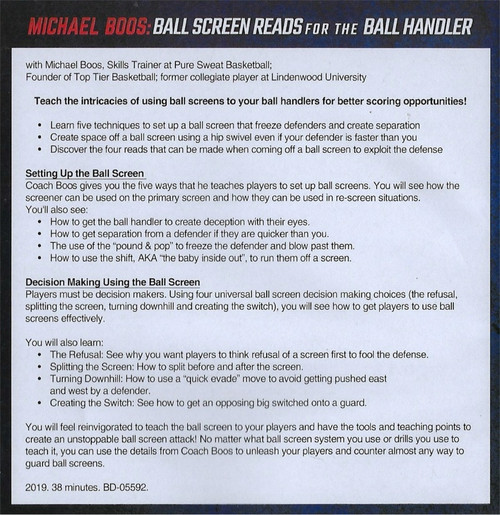 (Rental)-Ball Screen Reads for the Ball Handler