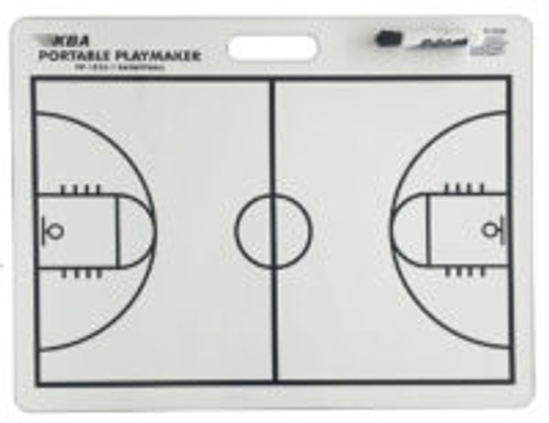 18 X 24 basketball coaching dry erase board 2 sided full court half court