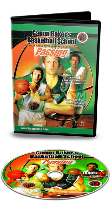 Ganon Baker Basketball Passing Drills Video DVD