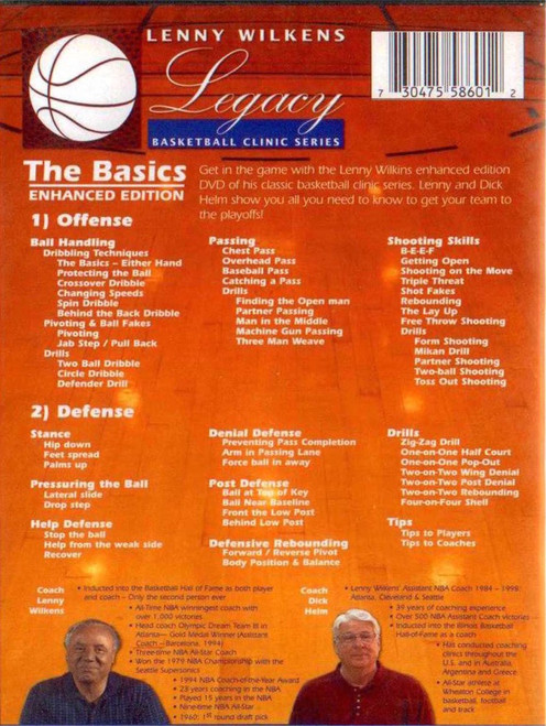 (Rental)-Lenny Wilkens The Basics