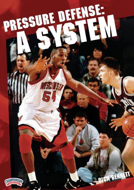 Pressure Defense -- A System by Dick Bennett Instructional Basketball Coaching Video