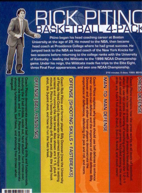 (Rental)-Rick Pitino Basketball 4 Pack
