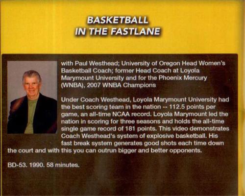 (Rental)-Basketball In The Fastlane
