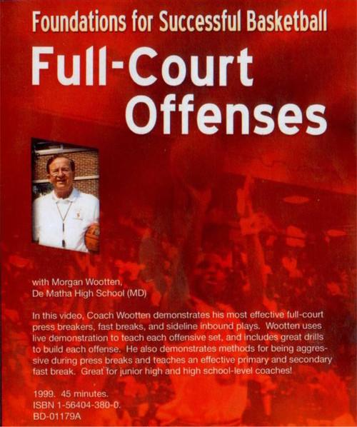 (Rental)-Full--court Offenses Dvd(wootten)