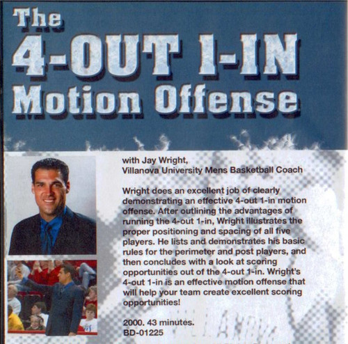 (Rental)-The 4--out 1--in Motion Offense