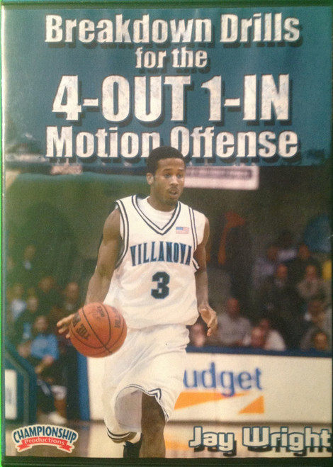 Breakdown Drills For The 4--out 1--in Motion by Jay Wright Instructional Basketball Coaching Video