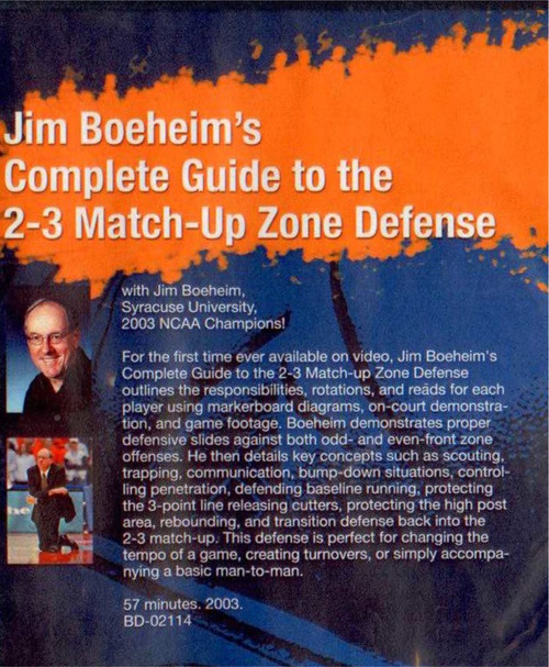 (Rental)-Jim Boeheim's Complete Guide To The 2--3 Match--up