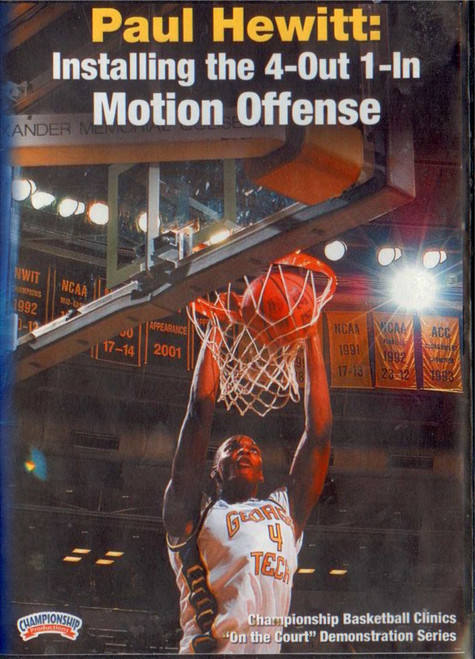 Installing The 4--out--1--in Motion by Paul Hewitt Instructional Basketball Coaching Video