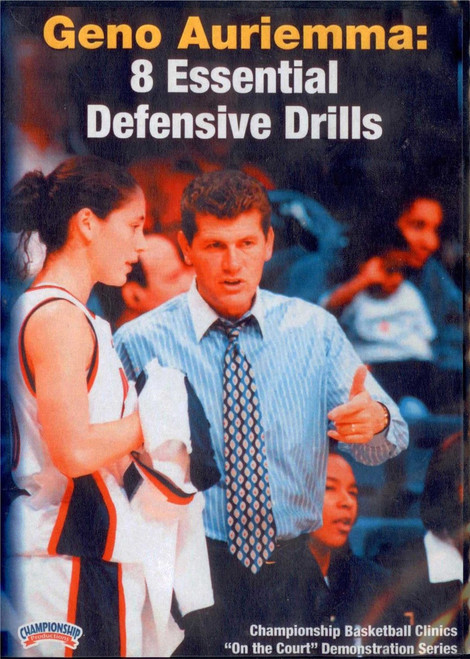Geno Auriemma: Eight Essential Defensive Drills by Geno Auriemma Instructional Basketball Coaching Video