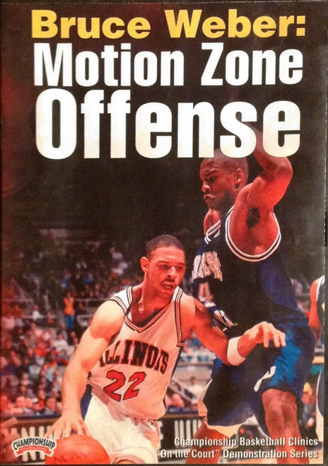 Motion Zone Offense by Bruce Weber Instructional Basketball Coaching Video