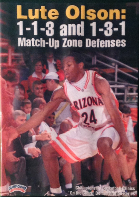 1--1--3 And 1--3--1 Match--up Zone Defense by Lute Olson Instructional Basketball Coaching Video