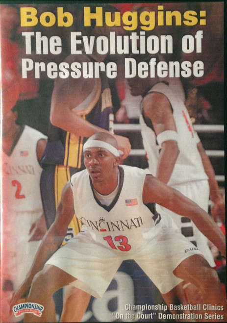 The Evolution Of Pressure Defense by Bob Huggins Instructional Basketball Coaching Video