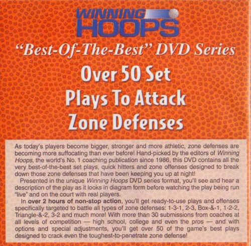 (Rental)-Over 50 Set Plays To Attack Zone Defense