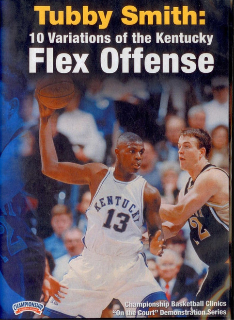 10 Variations Of The Kentucky Flex by Tubby Smith Instructional Basketball Coaching Video