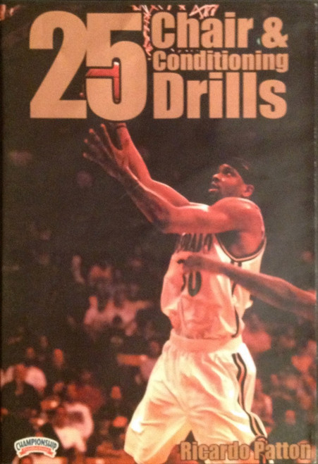 25 Chair And Conditioning Drills by Ricardo Patton Instructional Basketball Coaching Video