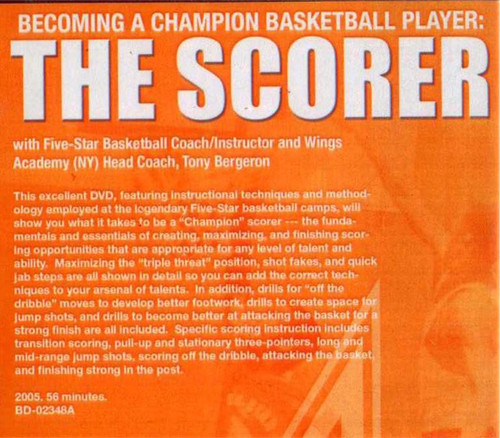(Rental)-Becoming A Champion:the Scorer