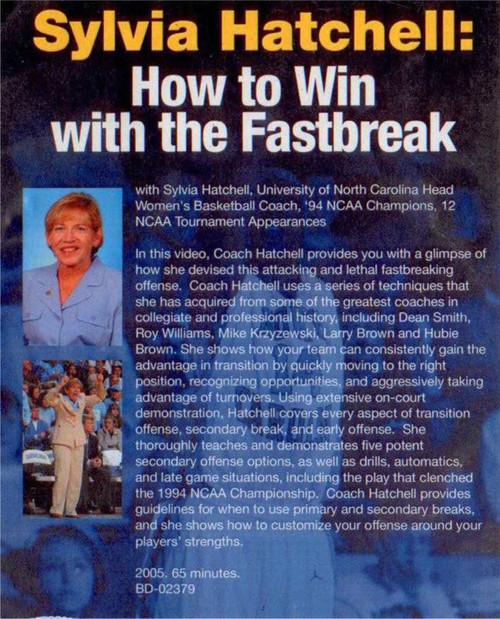 (Rental)-Sylvia Hatchell: How To Win With The Fastbreak