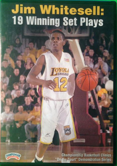 19 Winning Set Plays by Jim Whitesell Instructional Basketball Coaching Video