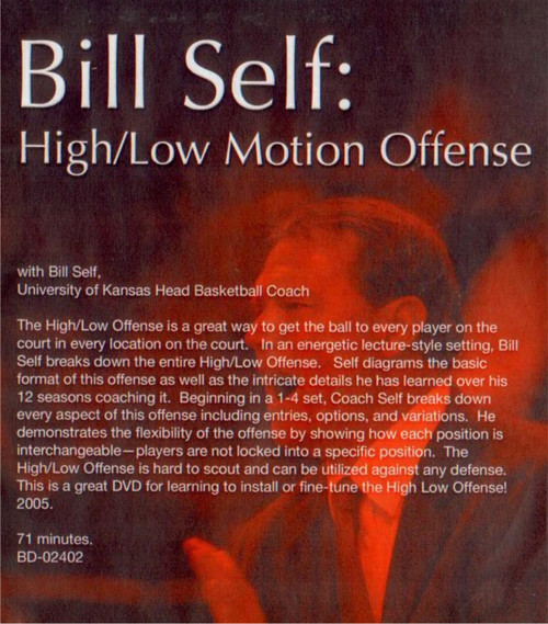 (Rental)-High/low Motion Offense With Bill Self