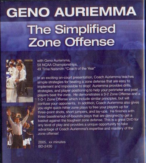 (Rental)-Geno Auriemma: The Simplified Zone