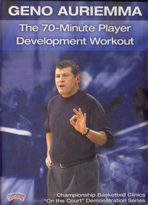 The 70--minute Player Development by Geno Auriemma Instructional Basketball Coaching Video