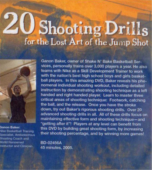 (Rental)- 20 Shooting Drills For The Lost Art Of The Jump Shot