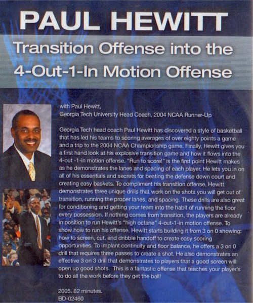 (Rental)-Transition Offense Into 4--out--1--in