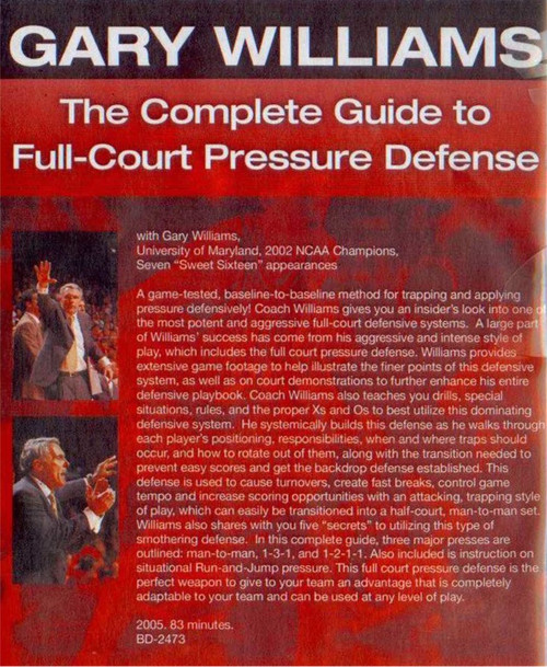 (Rental)-The Complete Guide To Full Court Pressure Defense