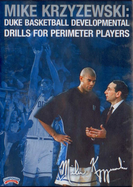 Coach K: Perimeter Players by Mike Krzyzewski Instructional Basketball Coaching Video