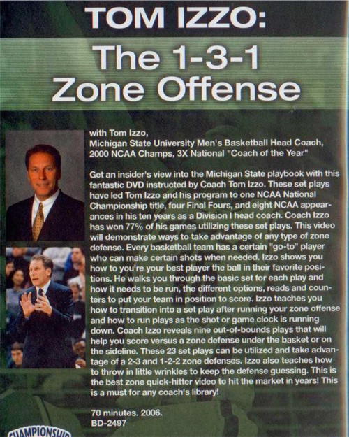(Rental)-The 1--3--1 Zone Offense