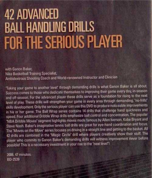 (Rental)-42 Advanced Ball Handling Drills For The Serious