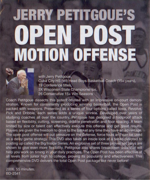 (Rental)-Open Post Motion Offense Petitgoue