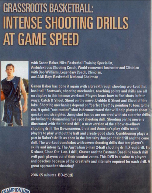 (Rental)-Intense Shooting Drills At Game Speed