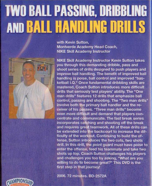 two ball basketball drills for your team
